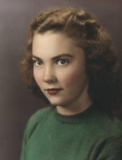 Mom's senior picture, Phyllis Grogan Byers