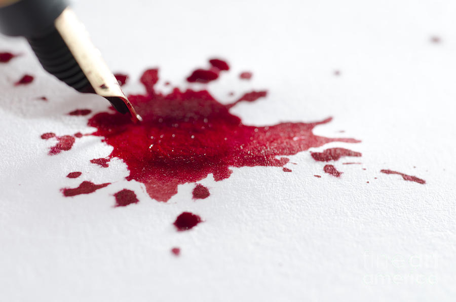 how to make red ink at home