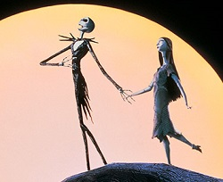 "Jack and Sally from ""The Nightmare Before Christmas"""