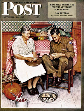 Scheiss Weekly, Thanksgiving, Rockwell