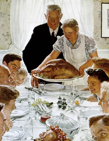 Jane Goodwin, Mamacita, Thanksgiving, Norman Rockwell