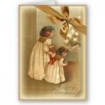 Christmas magic, child at Christmas