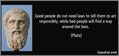 plato, bad people