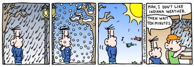 Indiana weather