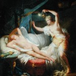 Psyche awakens Cupid
