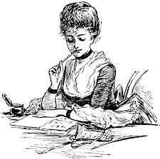 girl writing, Scheiss Weekly, writing