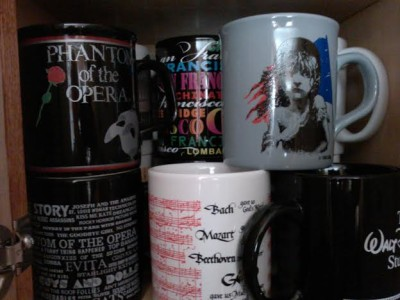 Broadway mugs, gift shop
