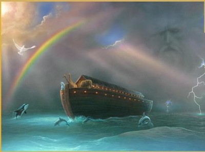 Noah's ark, ark, flood, Scheiss Weekly