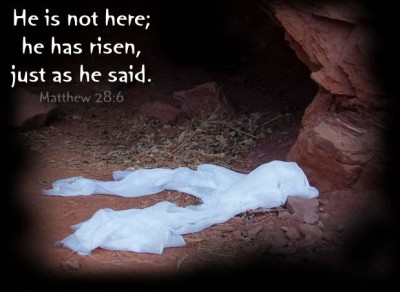 empty tomb, Easter, Scheiss Weekly