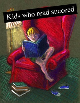 reading child, kids who read succeed, bright reading child, Scheiss Weekly