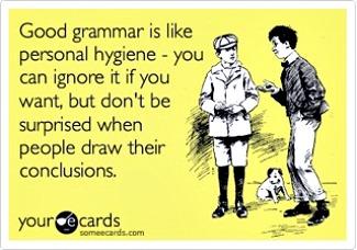 grammar, hygiene