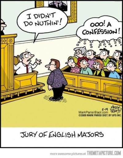 grammar confession