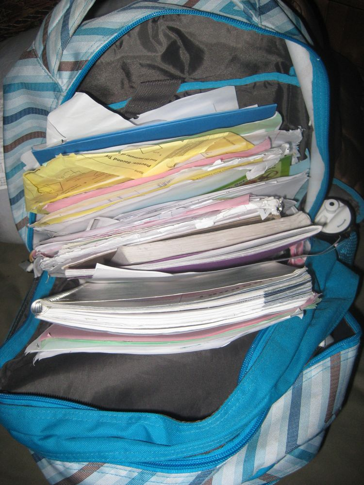Messy Backpack Scheiss Weekly