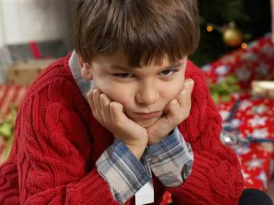 sad child at Christmas, practical gift for a child