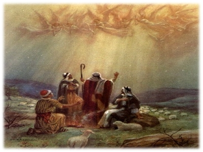 heavenly host, shepherds