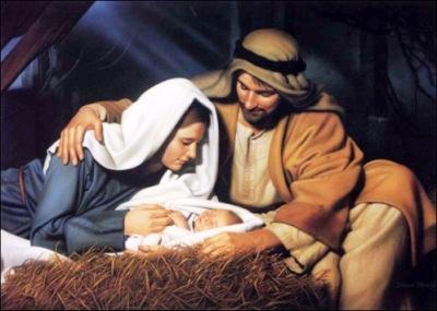 Nativity, holy family