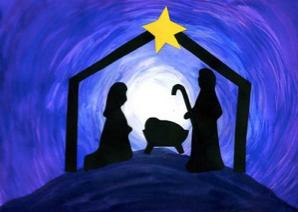 creche, real meaning of Christmas, manger scene
