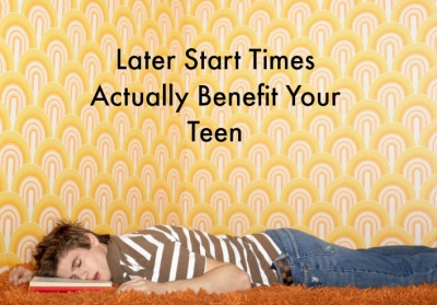 Late start times benefit teens
