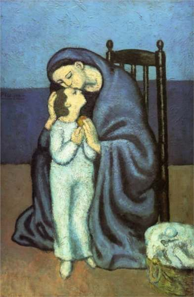 Mother and Child, Picasso, 1901