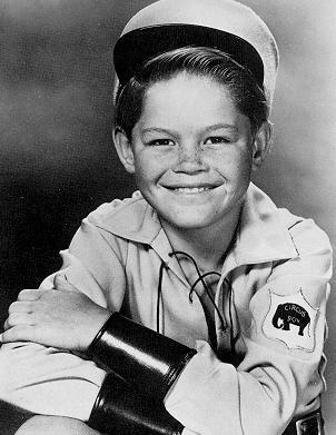 Little Mickey Dolenze as Circus Boy