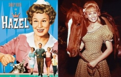 Shirley Booth as Hazel & Melody Patterson as Wrangler Jane