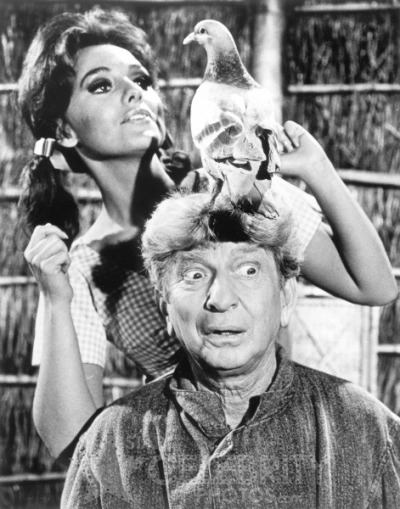 Sterling Holloway and Mary Ann