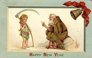 The old year passes and the new year begins. . . .