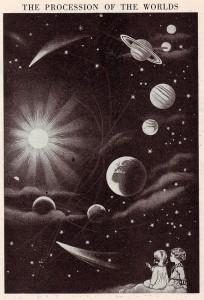 astronomy, night sky, universe, wonder, children