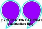 quotation saturday, mamacita's blog, jane goodwin