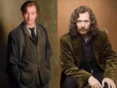 sirius and lupin, scheiss weekly, harry potter - Scheiss ...
